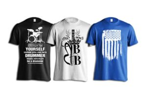 What is a customized t-shirt?